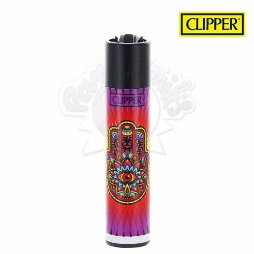 Briquet Clipper © Hamsa Hand (Rouge)