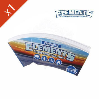 Carnet de filtre en carton Elements Cone