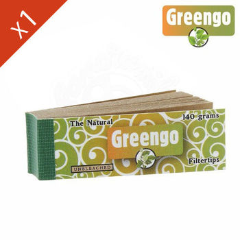 Carnet de filtre Greengo Brown en carton  (papier marron)