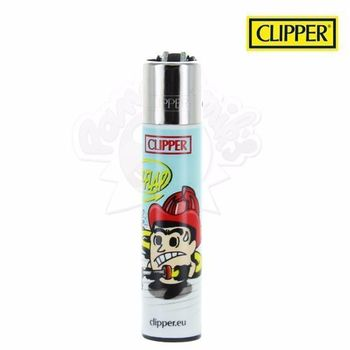 "Briquet Clipper © Pompier ""Flip-Flap!"""