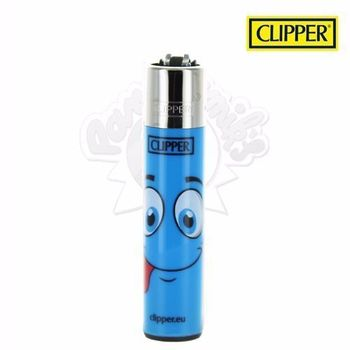 Briquet Clipper © Visage (Bleu)