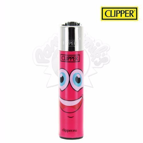 Briquet Clipper © Visage (Rose)