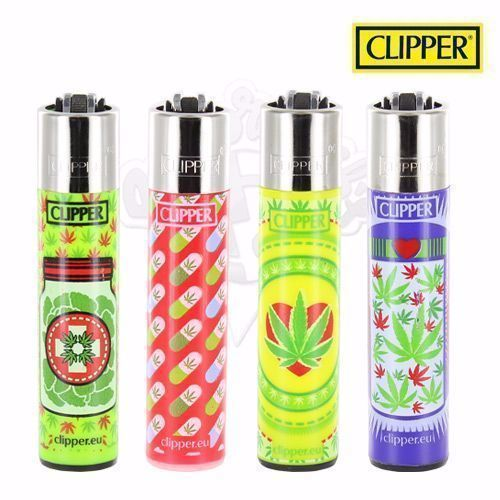 Lot de 4 Briquets Clipper © Green Medical