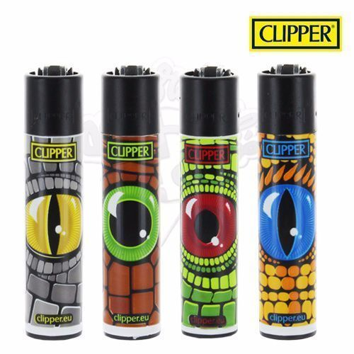 Lot de 4 Briquets Clipper © Reptilian Eyes