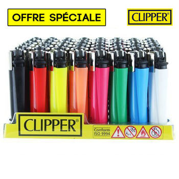 Boite de 48 briquets Clipper © Surprise !
