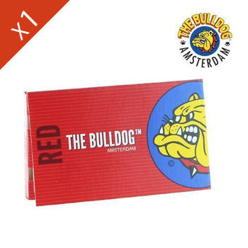 Carnet de Petite Feuille à rouler The Bulldog Red © Regular