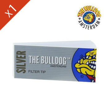 Carnet de filtre en carton The Bulldog Silver (large)