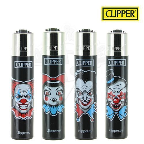 Lot de 4 Briquets Clipper © Horror Clowns