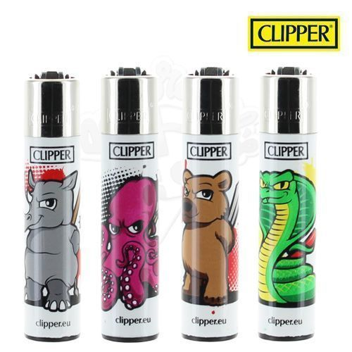 Lot de 4 Briquets Clipper © Mad Animal