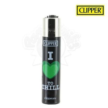 """Briquet Clipper © Green Leaves """"I love to chill"""""""