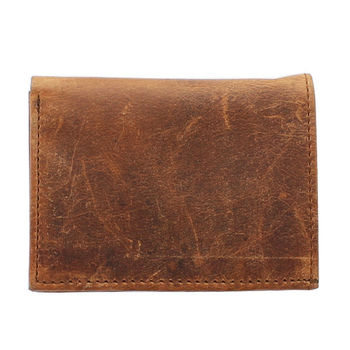 Porte-cartes en cuir (Marron)