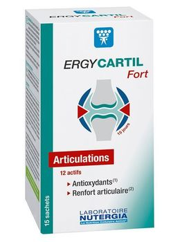 Nutergia Ergycartif fort 15 sachets