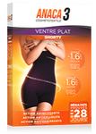 Anaca 3 shorty ventre plat noir L/XL