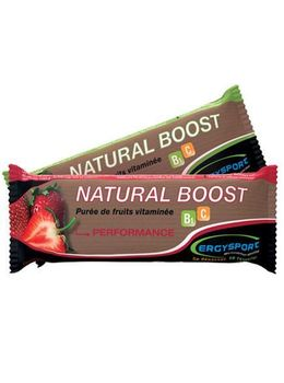 Nutergia natural boost Purée de fruits fraise 30g
