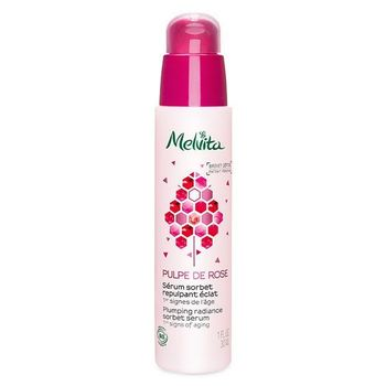 Melvita Pulpe de Rose bio Sérum Sorbet Repulpant Éclat 30 ml
