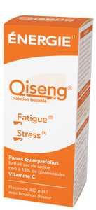 Qiseng énergie fatigue et stress 300ml