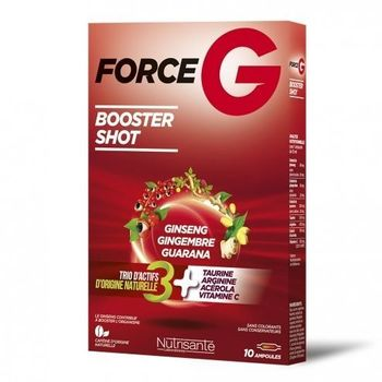 Nutrisanté Force G Booster Shot 10 ampoules