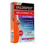 Valdispert Mélatonine 4 actions 1,9 mg 30 capsules