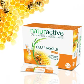 Naturactive Gelée Royale. 1500mg  15 sticks