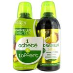 Milical Draineur Ultra Solution buvable ananas 2X 500ml