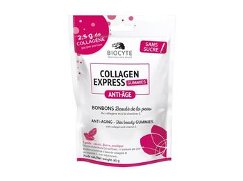 Biocyte Collagen Express Gummies - Bonbons anti-age 80g