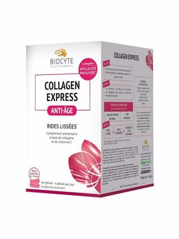 Biocyte Collagen express anti-age 180 gélules
