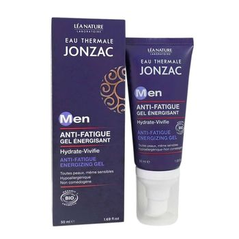 Jonzac Men Anti-Fatigue bio Gel Énergisant 50 ml