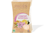Pagès infusion bio confort intestinal 20 sachets