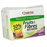 Ortis fruits & fibres transit facile lot 2 x 24 cubes