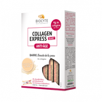 Biocyte Collagen Express bar Anti-Age Chocolat blanc 6 barres