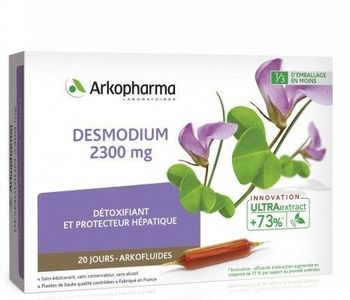 Arkofluides Desmodium 2300 mg 20 ampoules Arkopharma