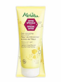Melvita Gel Douche Citronnier & Miel de Tilleul Lot de 2 x 200 ml