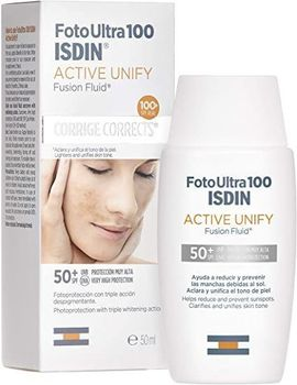 Isdin UV Care Active Unify Fusion Fluid SPF 50+ 50 ml