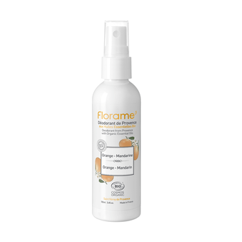 Florame Déodorant orange mandarine spray Bio 100ml
