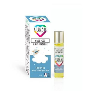 Aromade roll on gros dodo bio nuit paisible 5ml