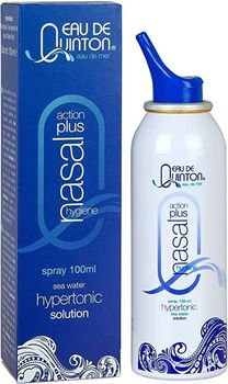 Quinton Spray Hygiene Nasale hypertonic Action + 100ml