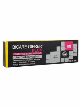Gifrer Bicare Plus Dentifrice au Charbon 75ml
