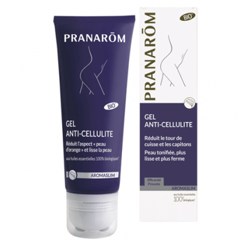 Date courte 09/19.Pranarôm Aromaslim gel anti-cellulite Bio 200 ml