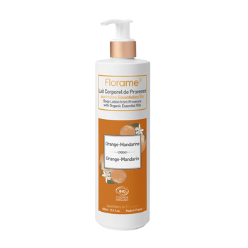 Florame Lait Corporel orange/ mandarine bio 400ml