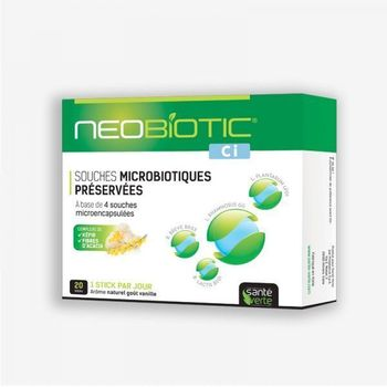 Santé Verte neobiotic CI confort interieur 20 sticks