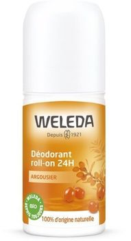 Weleda Déodorant 24h roll-on Argousier bio 50ml