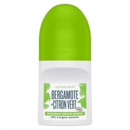 Schmidt's Deodorant roll on bergamote et citron 50ml