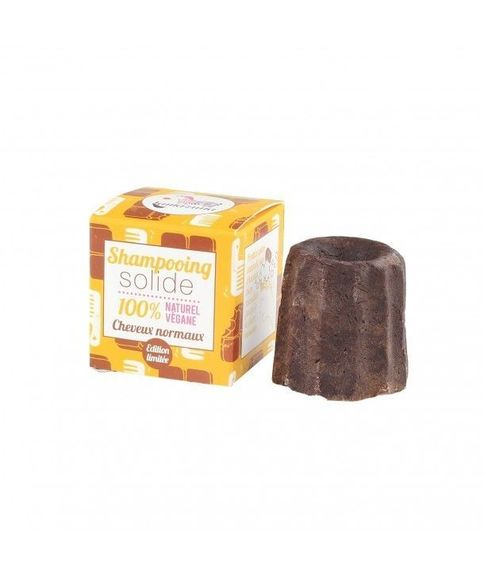 Lamazuna shampooing solide cheveux normaux chocolat 55 g
