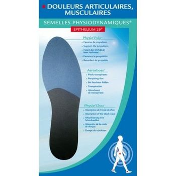 Epitact semelles douleurs articulaires, musculaires taille 36/37