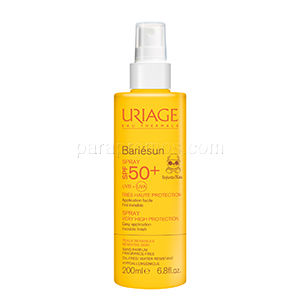 Date courte 12/19.Uriage Bariésun enfant spf50+  spray 200ml