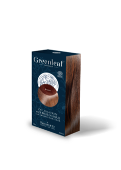 Greenleaf coloration bio brown/brun 100g Rodolphe & Co