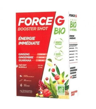 Force G Booster Shot Bio 20 Ampoules Nutrisanté