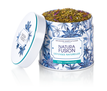 dluo 0420   Nutrisante Natura Fusion Infusion Défenses naturelles 100g