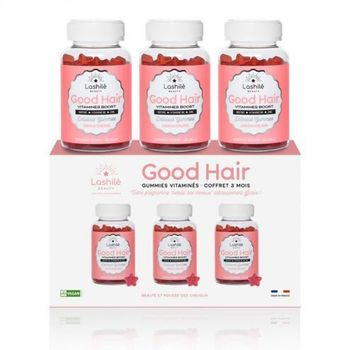 Lashilé Beauty Good Hair Vitamines Boost lot 3 X 60 Gommes