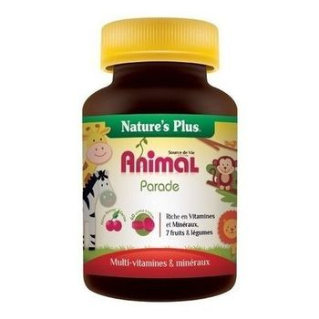 Nature's Plus Animal parade enfants cerise 60 comprimés